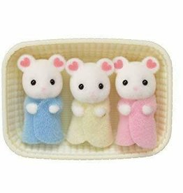 calico critter marshmallow mouse triplets