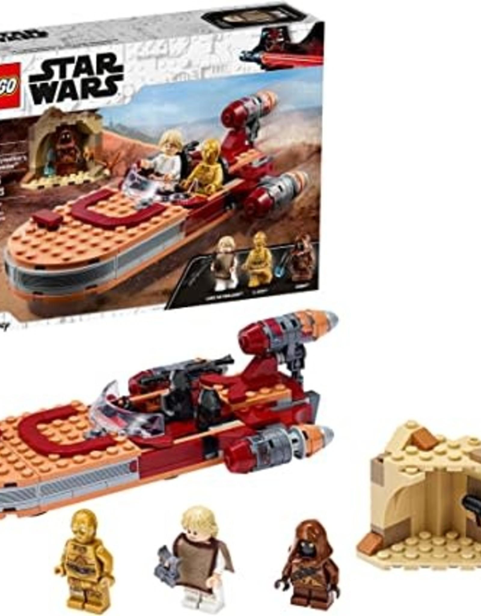 Luke Skywalker's Landspeeder lego