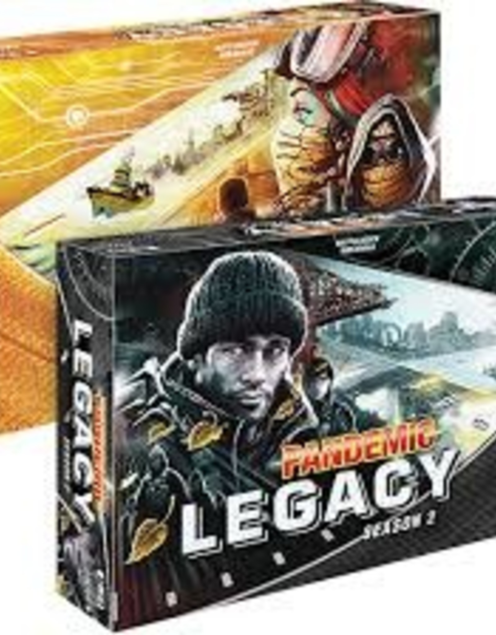 Pandemic legacy season 2 game