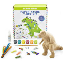 Paper Mache T-Rex Kit