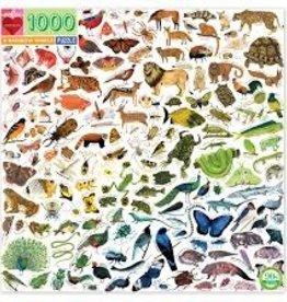 A Rainbow World 1000pc Puzzle