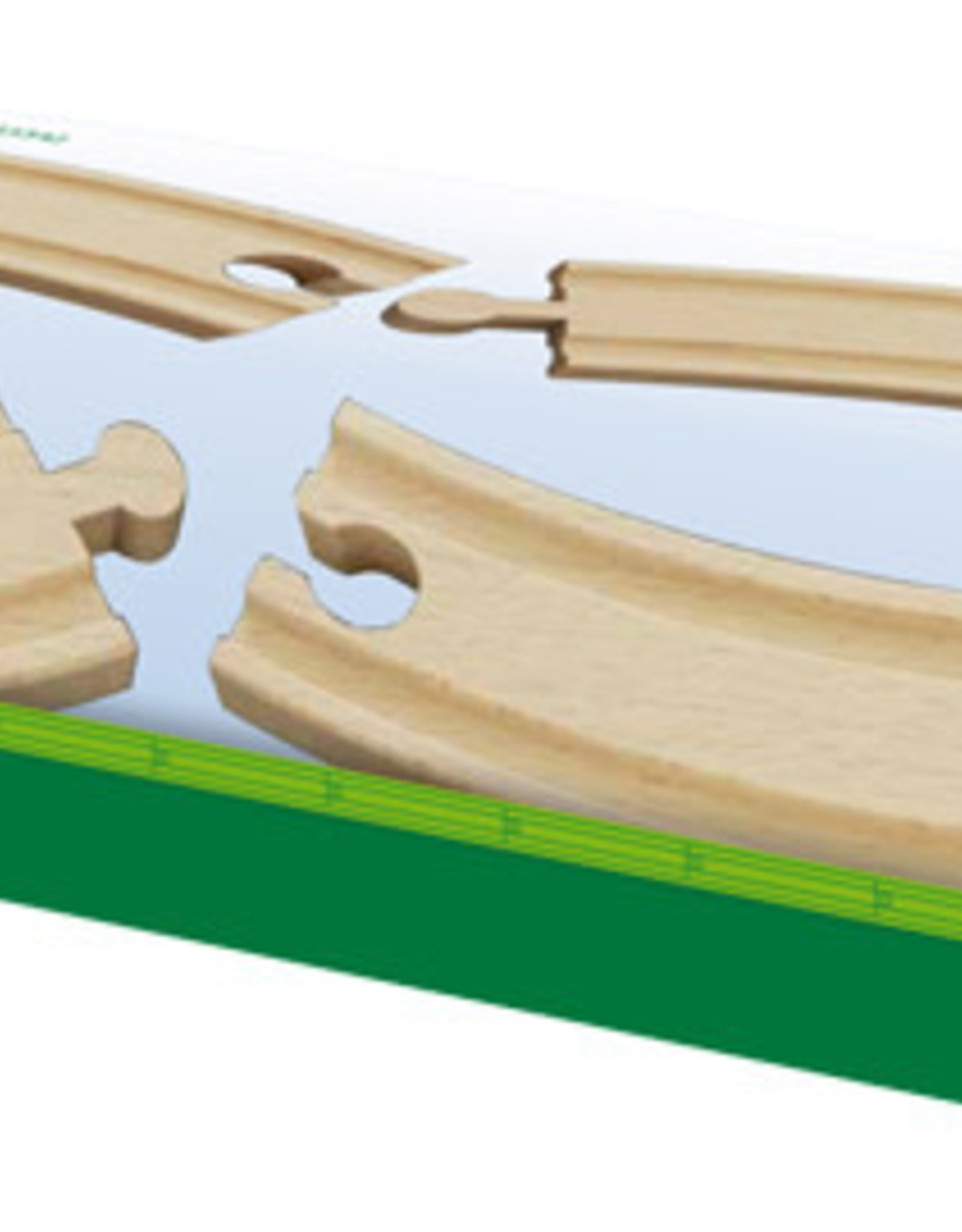 Brio Trains Large Curved Tracks