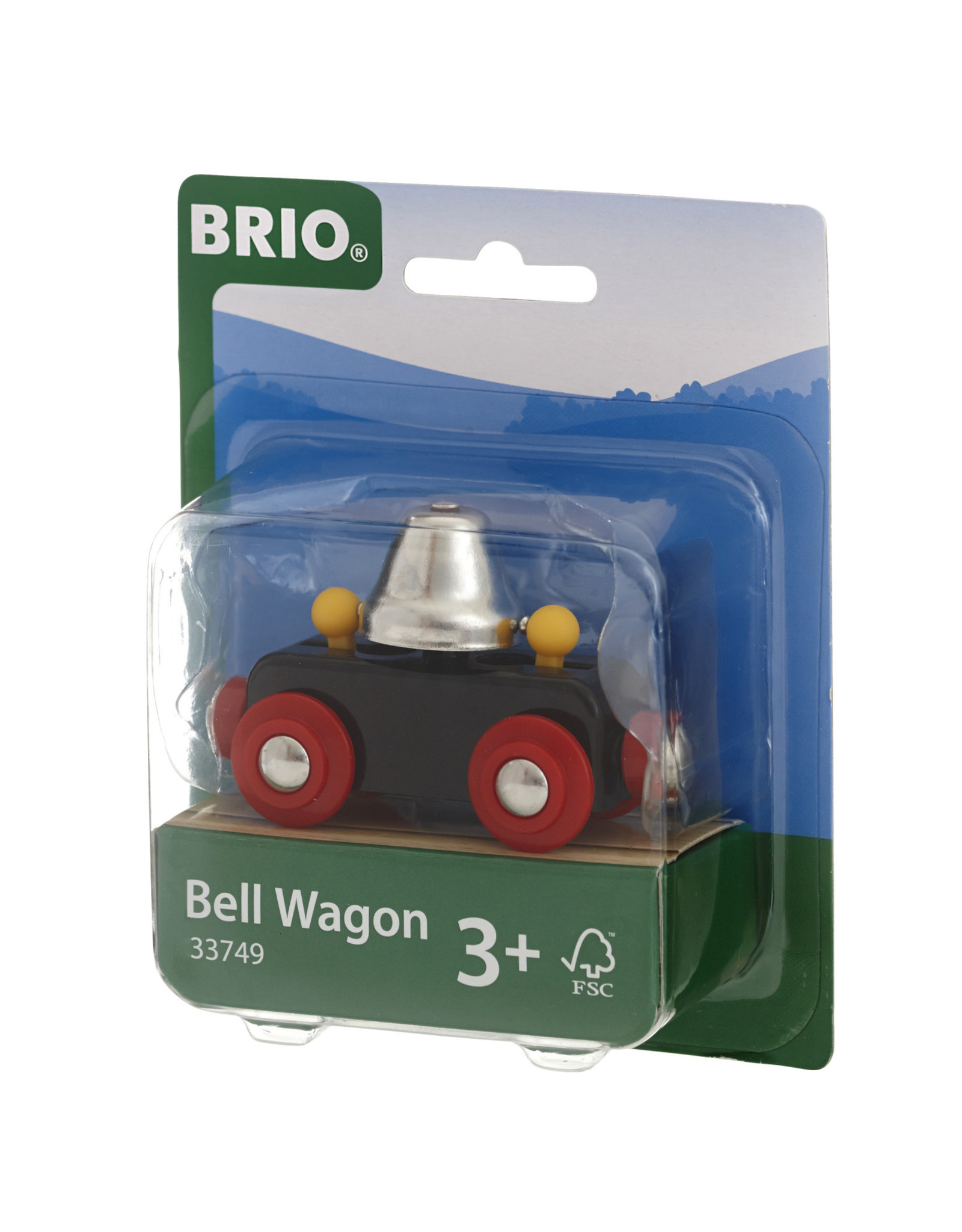 Brio Trains Bell Wagon Brio