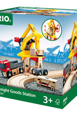 Brio Trains Freight Goods Station