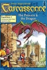 Carcassonne Expansion 3: The Princess & the Dragon- asmodee