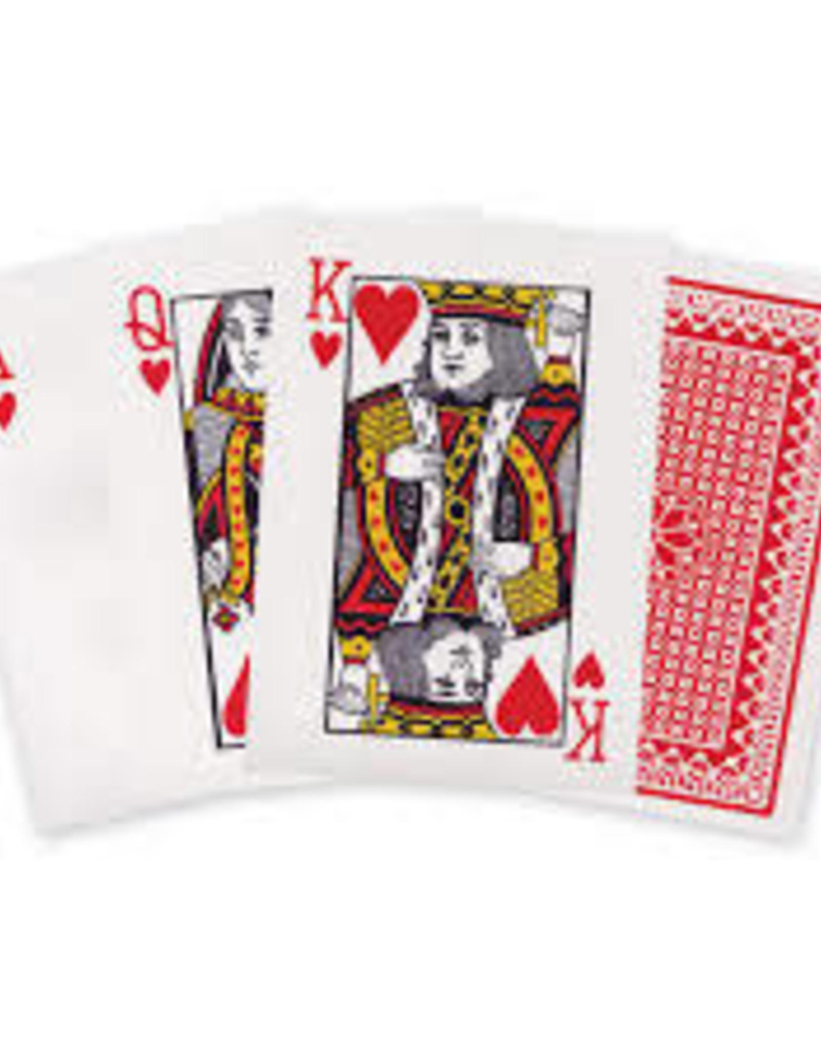 5X7IN. JUMBO PLAYING CARDS