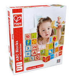 ABC Blocks-HAPE