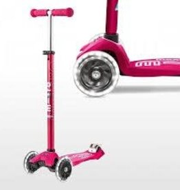 Maxi Deluxe Scooter LED Pink