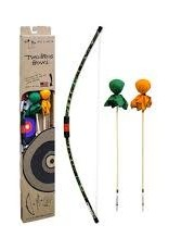 Camo Bow, 2 Camo Arrows and Small Bullseye
