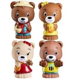 Timber Tots Paw Paw Family set of 4