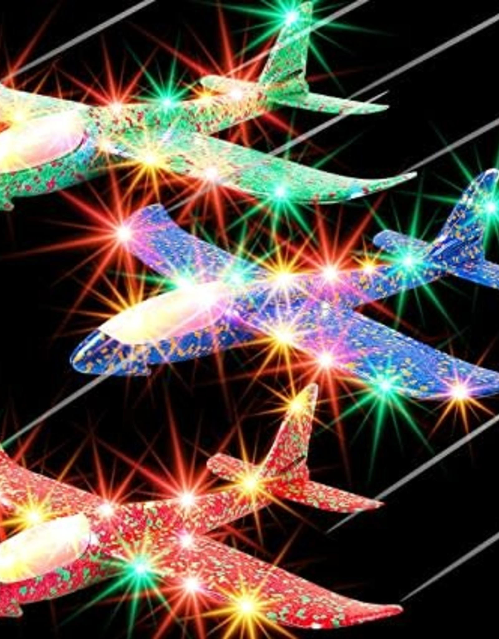 Spin Copters LED Sky Gliders