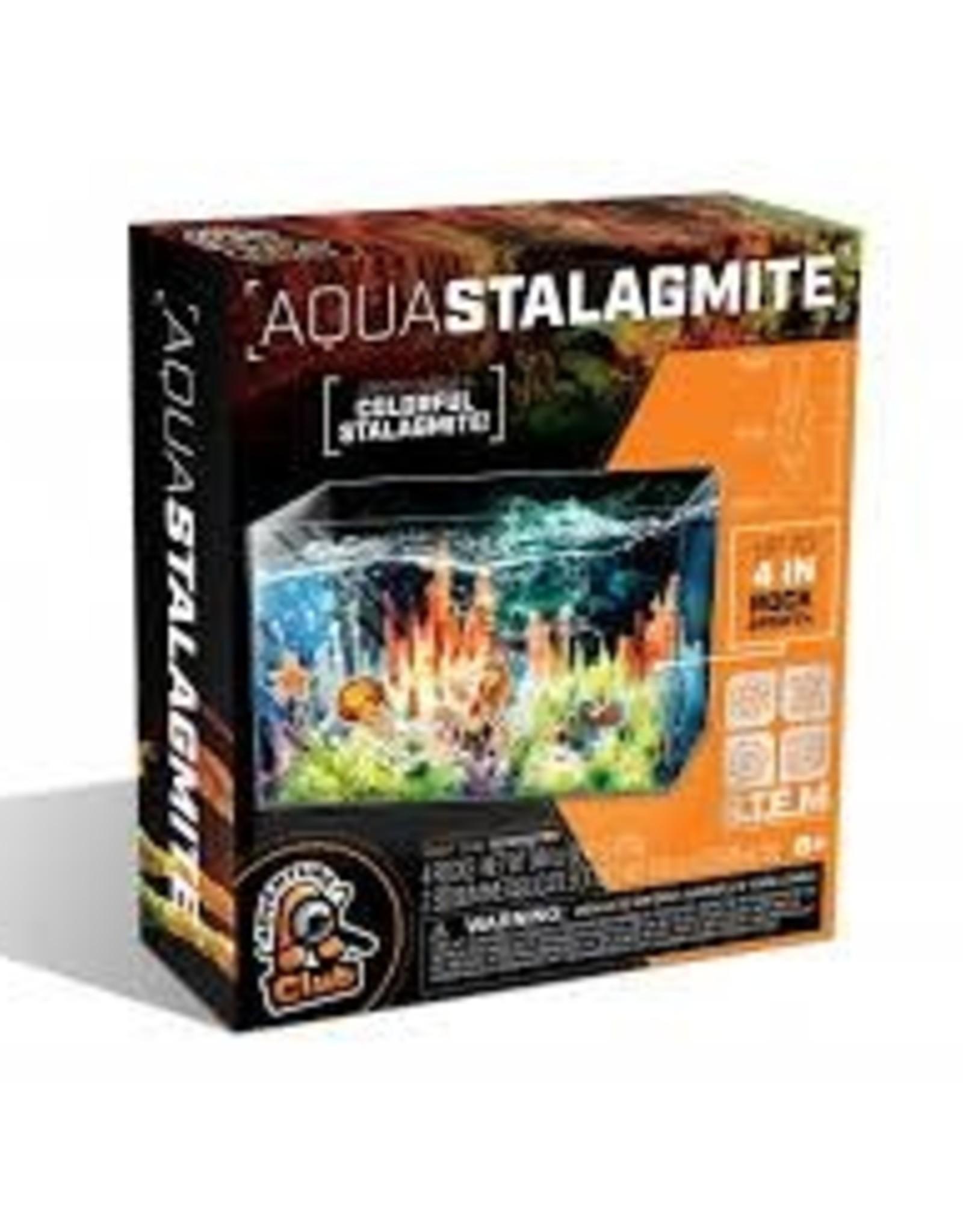 Aqua Stalagmite