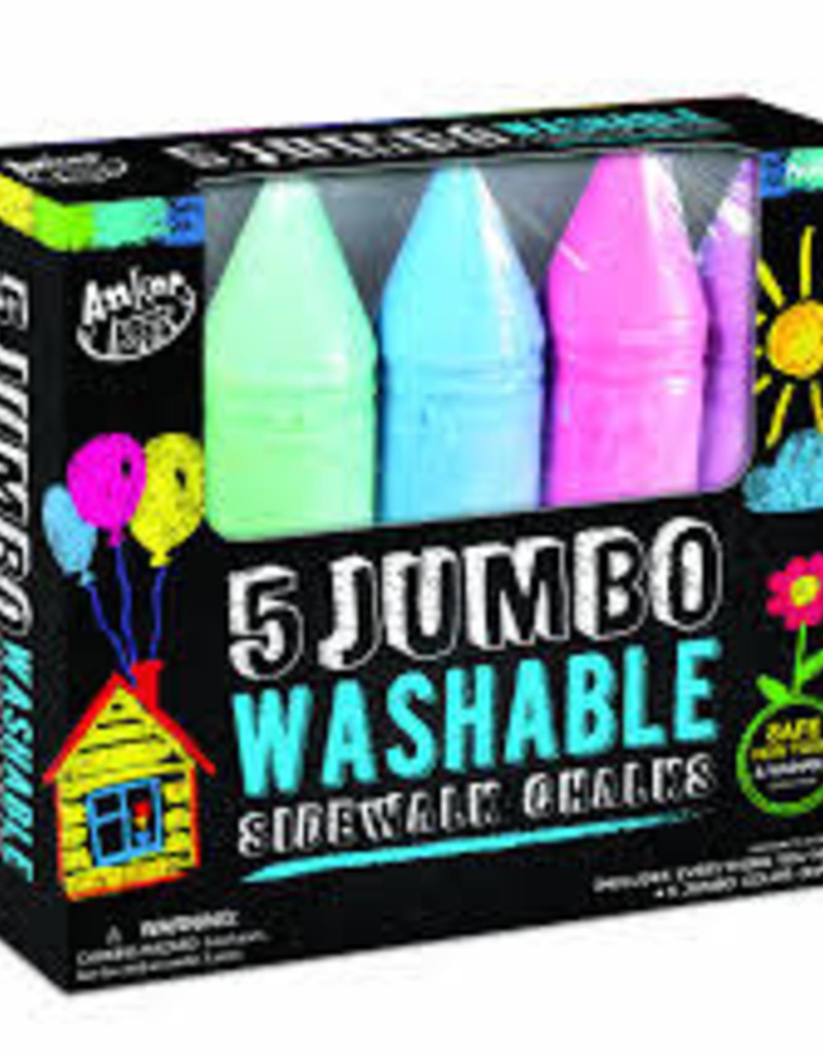 5pc Super Jumbo Crayon Chalk-