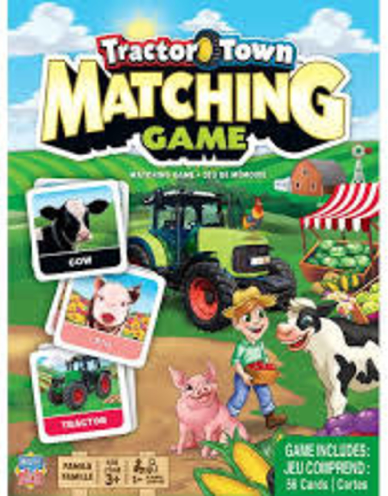 Tractor Town - Matching Game