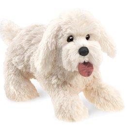 Panting dog puppet