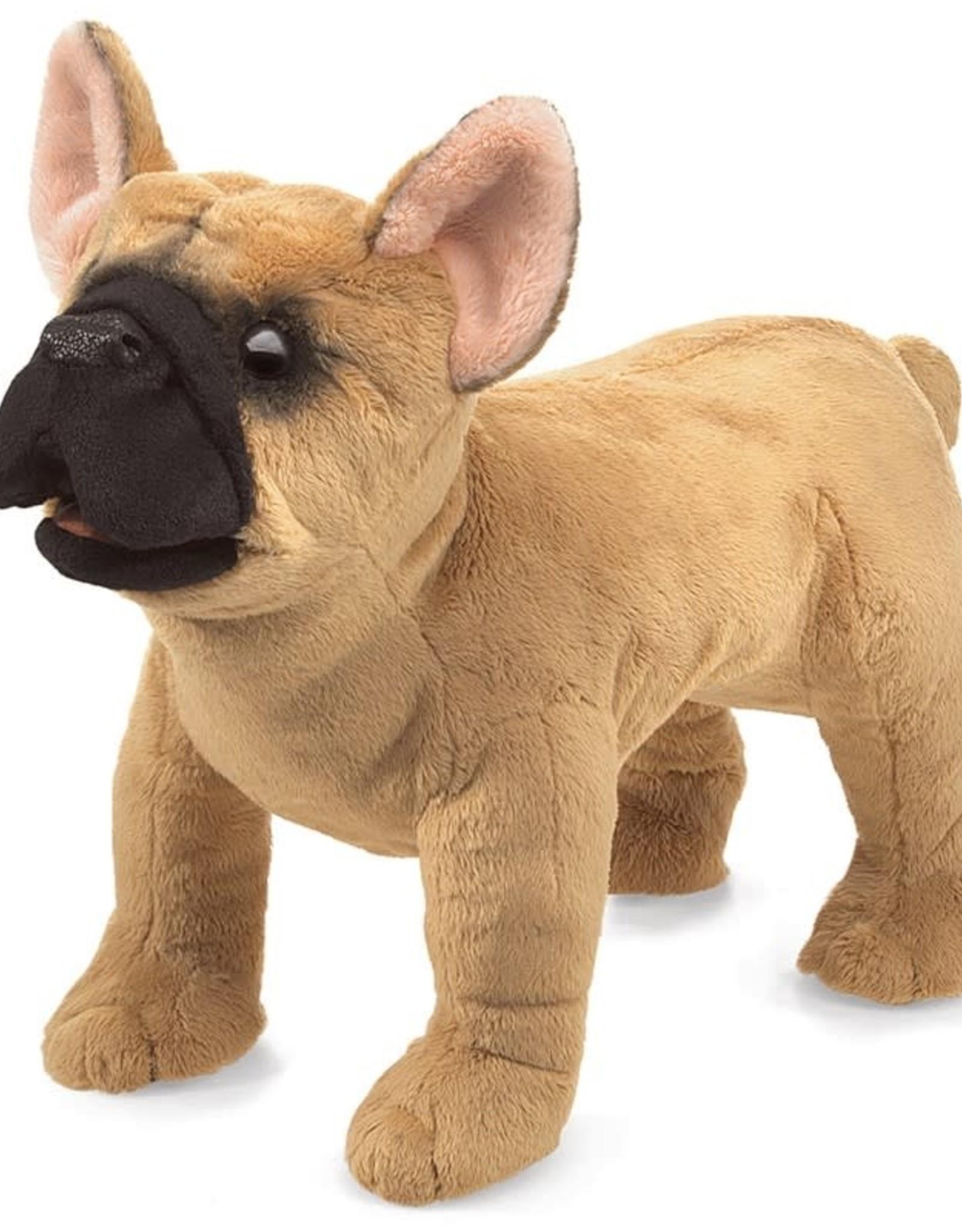 French Bulldog puppet