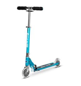 Sprite kickboard scooter LED OCEAN BLUE
