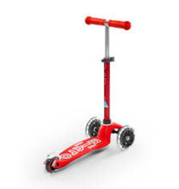 MINI DELUXE MICRO SCOOTER RED LED