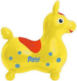 Rody Ride-On Horse - Yellow