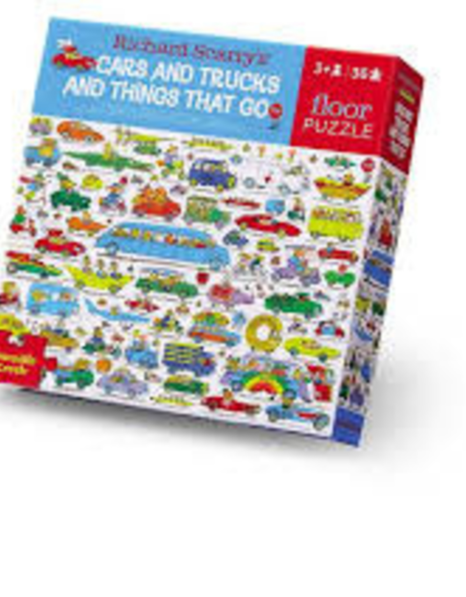 Car and Things That Go - 36pc Floor Puzzle