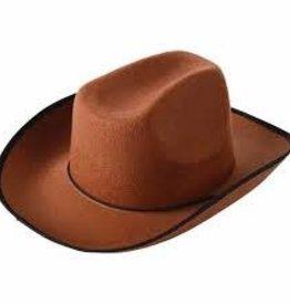 COWBOY HAT/BROWN