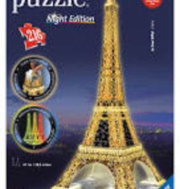 Eiffel Tower 3D Puzzle (Night Edition)
