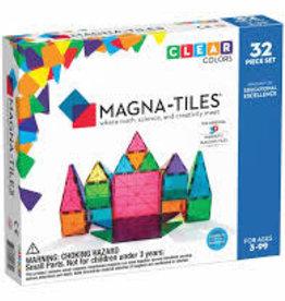 Magna-Tiles Clear Colors 32pc.