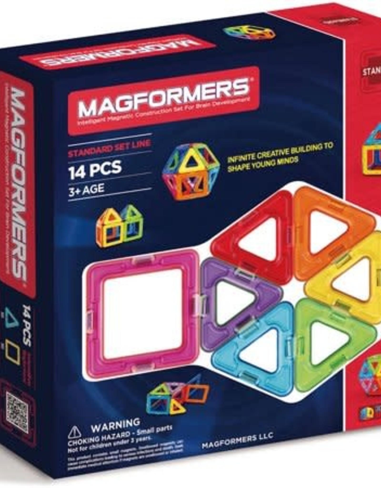 Magformer Rainbow basic 14pc set