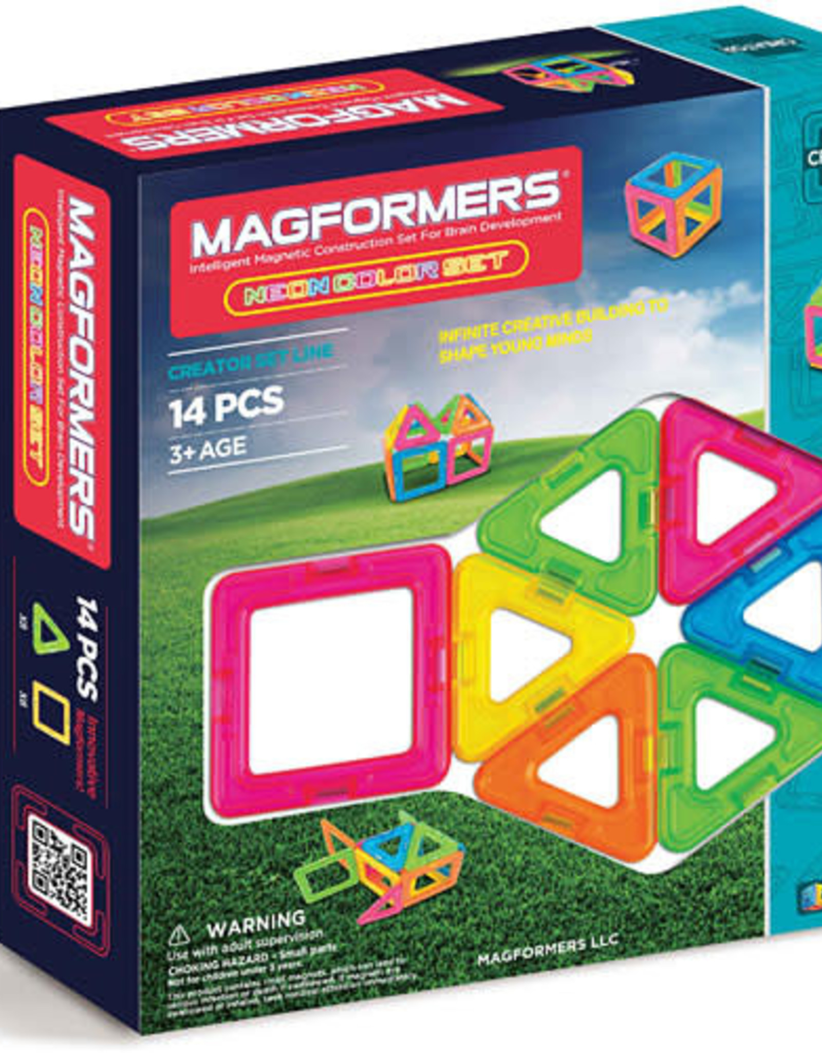 Magnaformers LLC Magnaformers Basic Neon 14-Piece