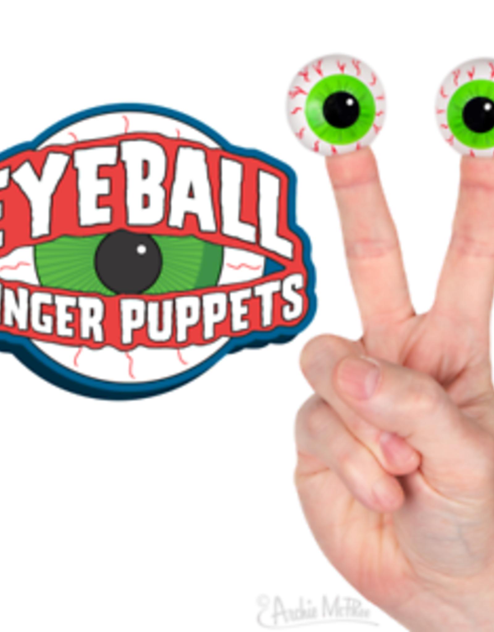 Finger Eyeball Puppets