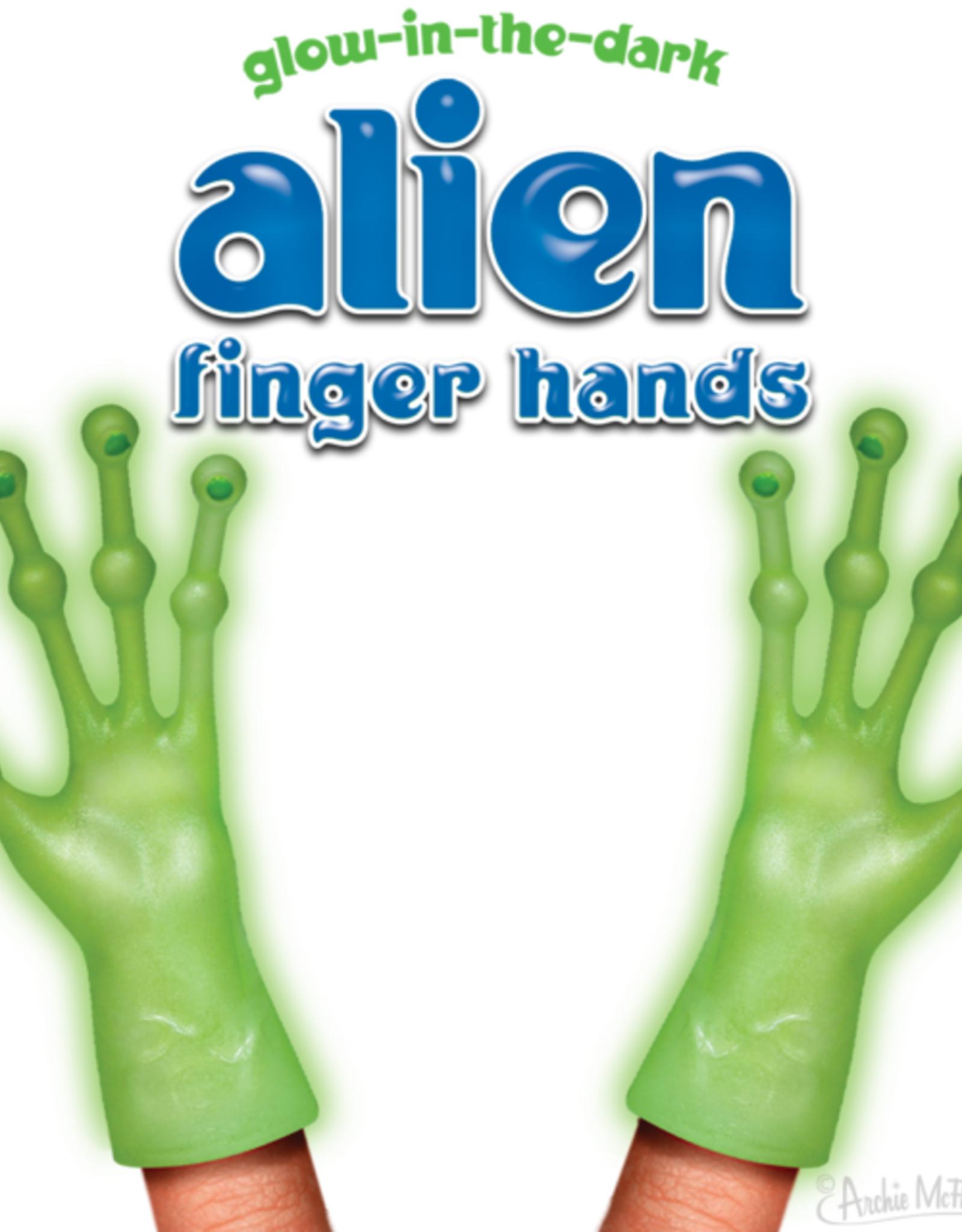 Glow in the Dark Alien Fingers