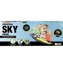 Slackers Adventure Sky Swing 40' Triangle