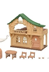 Calico Critters Lakeside Lodge Gift Set with rope ladder
