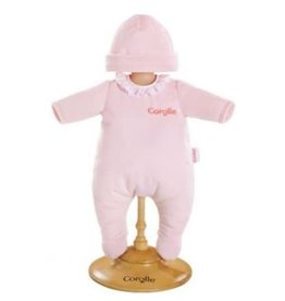 "Doll 12"" Pajamas - Pink -"