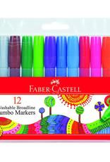 Faber-Castell 12ct  Broadline Jumbo Markers
