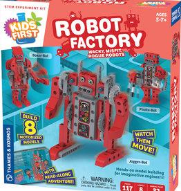 Kids First Robot Factory: Wacky, Misfit, Rogue Robots