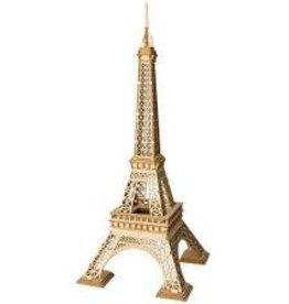ROBOTIME Eiffel Tower - 3D Wooden Puzzle