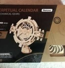 ROBOTIME Perpetual Calendar - Mechanical Gears