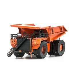 Metal Earth Mining Truck (Color)
