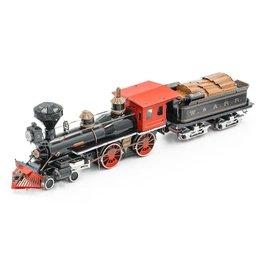 Metal Earth Wild West 4-4-0 Locomotive (Color)