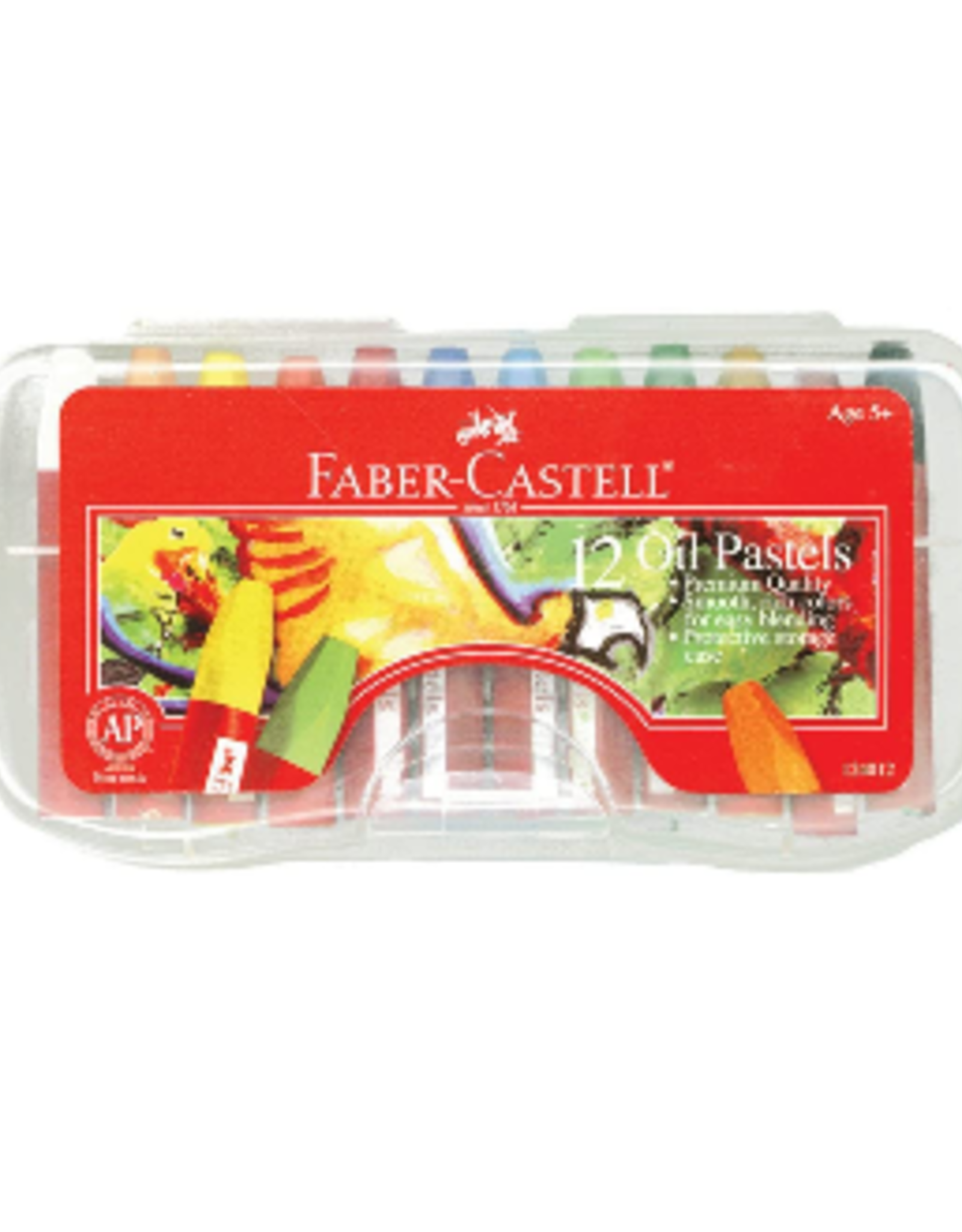 Faber-Castell 12ct Oil Pastel in Case