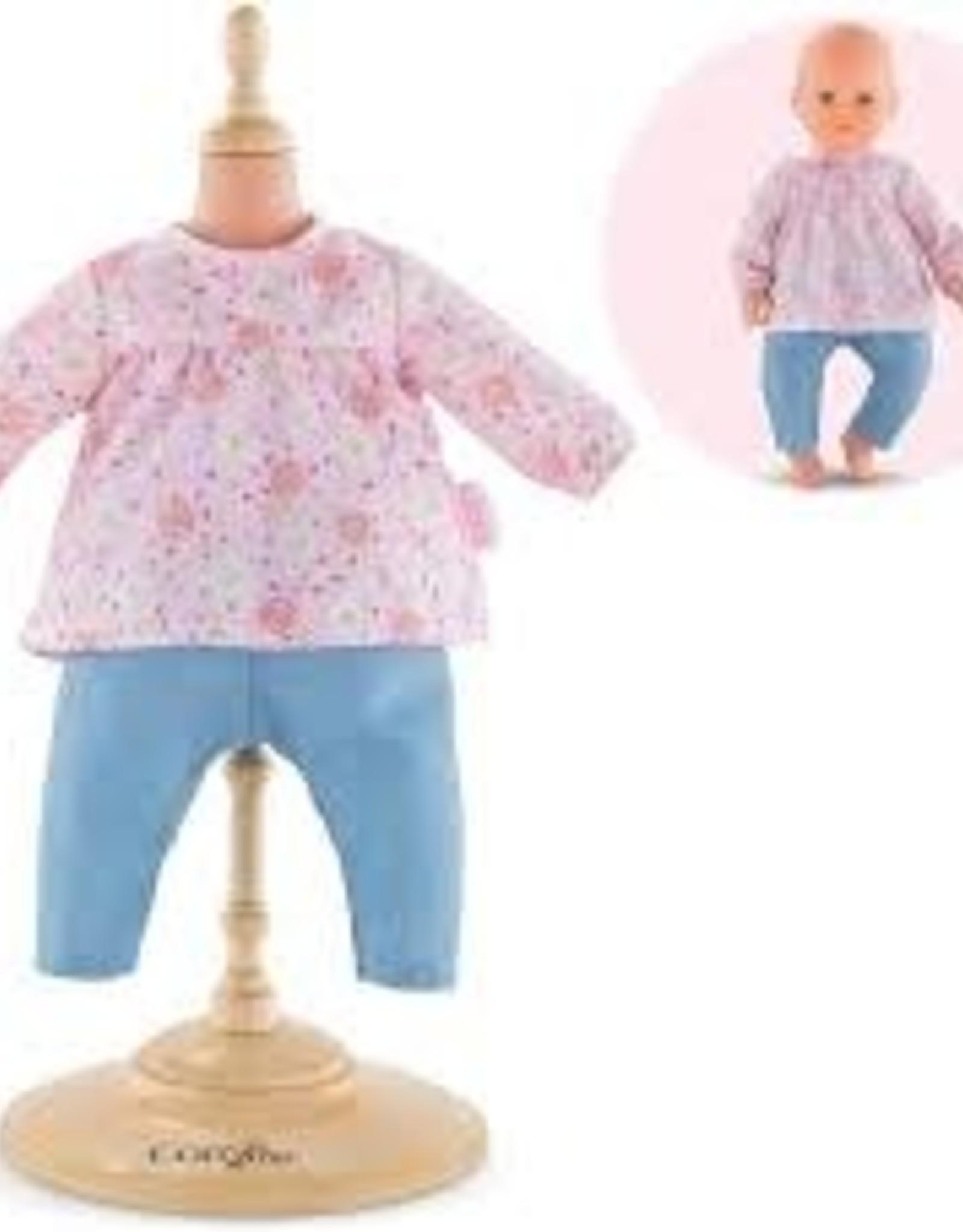 """BB17"""" Blouse & Pants - doll corolle"""