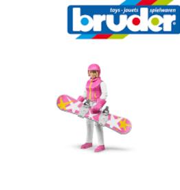 Bruder Snowboarder with accessories Bruder