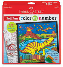 Color By Number t-rex