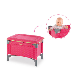 Baby Doll Bed & Changing Table Cherry