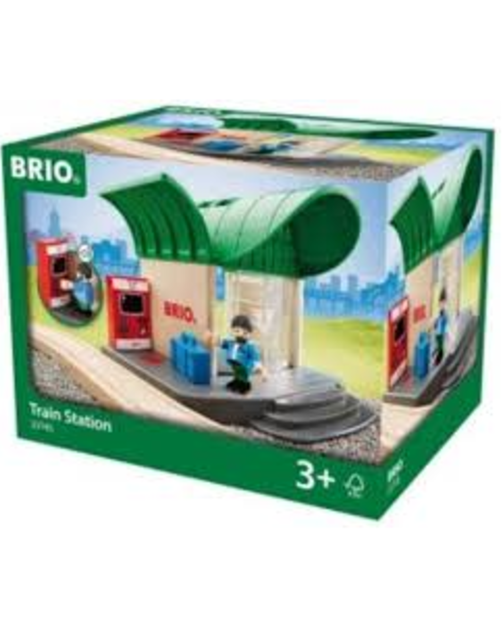 Train Station Brio