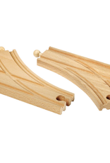 Brio Trains Curved Switching Tracks
