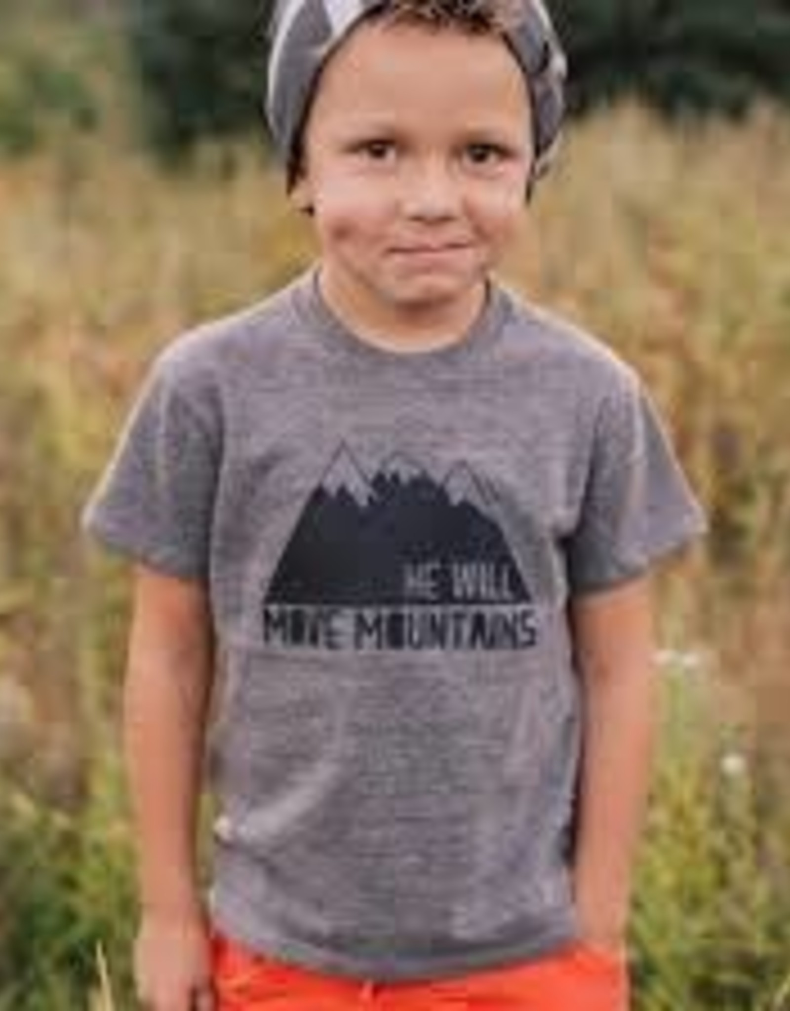 He Will Move Mountains Tee 4T