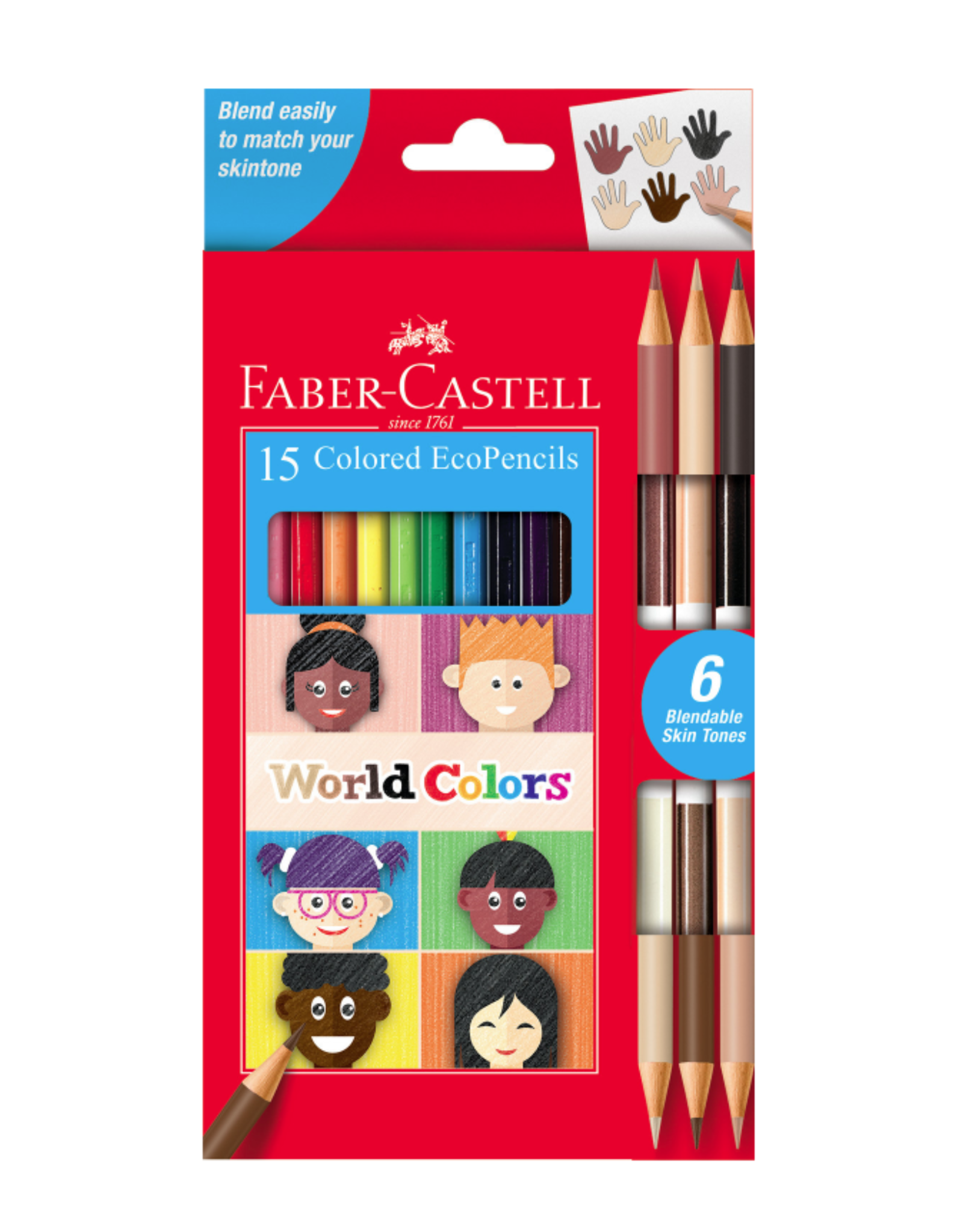 World Colors - 15ct EcoPencils