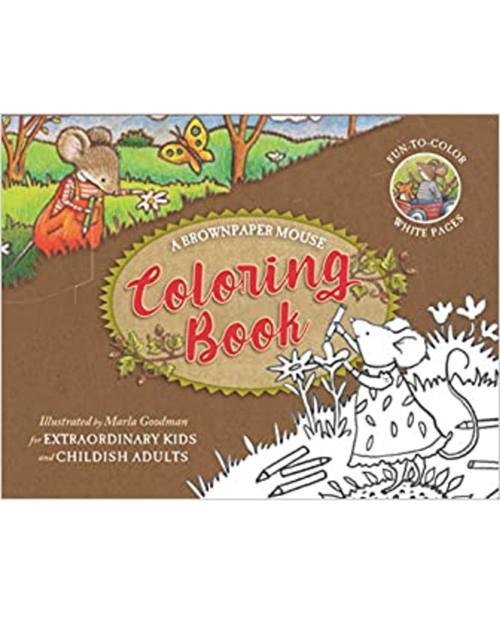 Brownpaper Mouse Coloring Book